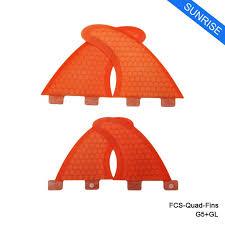 <b>FCS Fin</b> Honeycomb Orange/Blue <b>Surfboard Fin</b> Quilhas <b>FCS</b>- <b>G5</b>+ ...