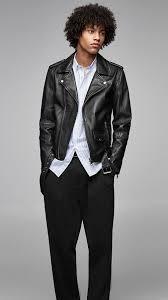zara man real leather jacket