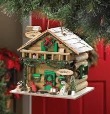 Mountain Cabin Decor Wholesale Holiday Mountain Lodge Birdhouse Outdoor Decor Cheap