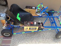 picture of electric arduino go kart