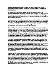 critical evaluation unto us gcse english marked by teachers com page 1 zoom in