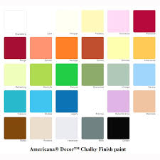 Americana Chalk Paint Color Chart Chalk Paint 59 Ml Innocence Chalk Paints And Waxes Home