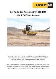 Cat Parts San Antonio (210) 648-1111 by HOLT CAT San Antonio - issuu