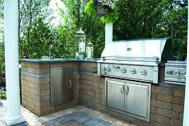 outdoor kitchen island with grill sink refrigerator an expands your living fridge freezer kitchens