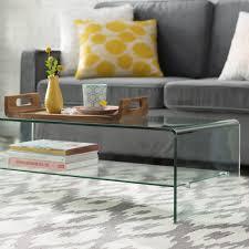 Artemon Transparent Coffee Table