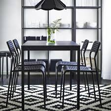 dining room furniture sets contemporary round dining table black round pedestal dining table dining chairs