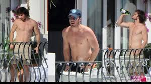 Shirtless Ian Somerhalder Enjoy Italys And PDA With Wife Nikki.