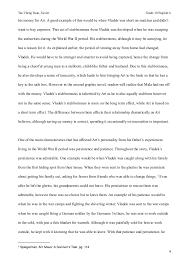 maus essay vladek intends to save 3 4
