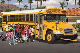 Blue Bird Vision School Bus Macallister Transportation