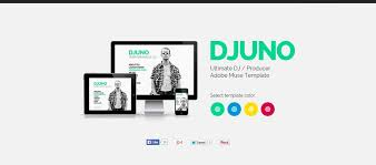 Muse Website Templates Inspiration 48 Beautiful Muse Templates For Personal Websites