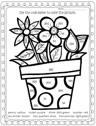 First Grade Math Coloring Sheets Iamdriverinfo