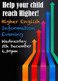 higher english reflective essay bearsden academy s english blog  bearsden academy s english blog attention