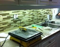 Green Tile Backsplash Kitchen Green Glass Tile Kitchen Backsplash Roselawnlutheran
