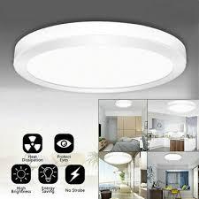 led ceiling light round panel down