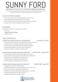 Effective Customer Service Resume Examples 2018 Utah Staffing