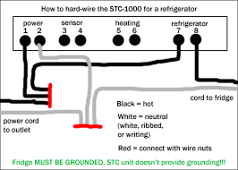 how to hard wire the stc 1000 homebrewtalk com beer, wine, mead STC-1000 Keezer Stc 1000 Wiring Diagram #18