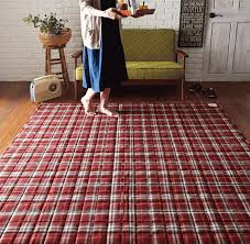 festival limited fluffy soft plush feet touch tartan rug fashionable 185x185cm retro rug mat clean cleaning easy washable rugs carpet insulation