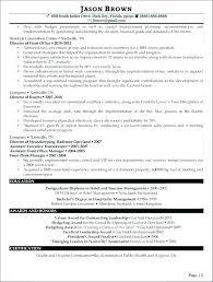 Sample Hotel Management Resume Resume Bank