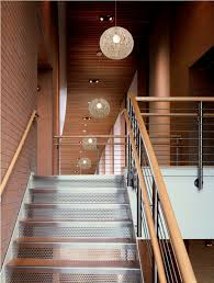 image of stairwell lighting fixture