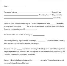 Printable Rental Agreement Template Printable Lease Agreement Template Business