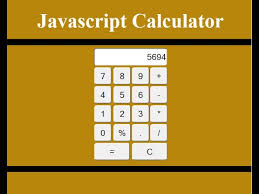 how to create a calculator in javascript  how to create a calculator in javascript