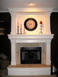 fireplace surround travertine mosaic home sweet home