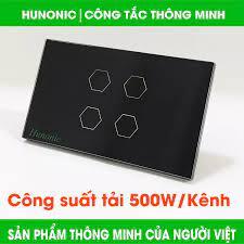 Công tắc thông minh HUNONIC Việt Nam 4 Kênh