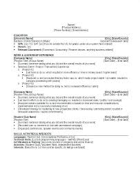 Resume Sample Activities And Interests Interest Examples Unique