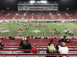 Sam Boyd Stadium Virtual Seating Chart Sam Boyd Stadium Section 107 Rateyourseats Com