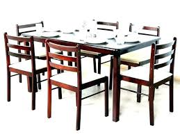 medium size of solid oak round extending dining table and 6 chairs kuba wood classic kitchen