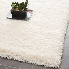 white fluffy rugs home decor