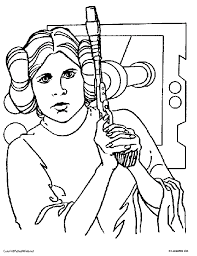Small Picture Princess Coloring Pages From Star Wars Coloring Coloring Pages
