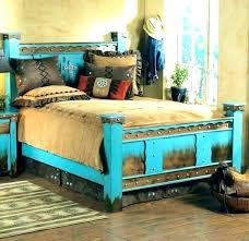 Rustic King Size Bed Frame Rustic King Size Bed Rustic Wooden Bed ...