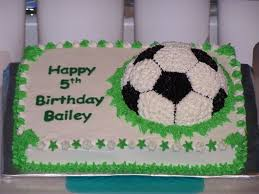 Soccer Ball Icing Decorations Bailey's Soccer Ball Cake CakeCentral 68