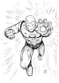 Small Picture Free Printable Iron Man Coloring Pages For Kids throughout Iron