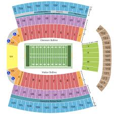 New Kyle Field Seating Chart Wake Forest Stadium Seating