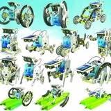 <b>Конструктор</b> Роботостроение 14 в 1 на <b>солнечной батарее</b>