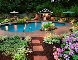 Beautiful Gardain Home Magnificent Landscape Garden Beds