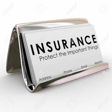 Sales Business Cards Insurance Protect The Important Things Words On Business Cards