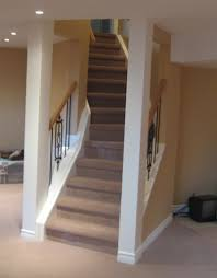 basement stairs railing. Basement Stairs Ideas Design Staircase Stair Posts Columns And On Pinterest Style C Full Size Railing