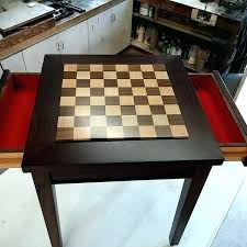 chess table for chess coffee table hand crafted custom exotic wood chess table with drawers chess table