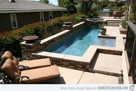 Pool Designs For Small Backyards Interesting 48 Great Small Swimming Pools Ideas Home Design Lover