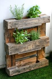 garden rack. Pallet Herb Rack Garden