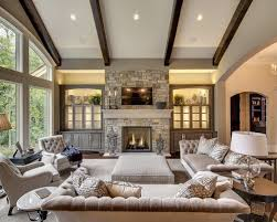 Small Picture Ceiling lights semi formal transitional living room with fireplace