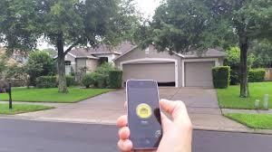open garage door with iphoneDIY Bluetooth 40 iPhone and Android Garage Door Opener