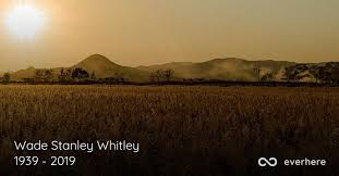 Wade Stanley Whitley Obituary (1939 - 2019) | Willow Spring, North Carolina