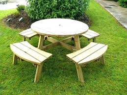 round picnic table plans round wood picnic table round picnic table plans medium size of tables