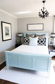 light bedroom colors and black and white decorating ideas visually increasing small bedroom design