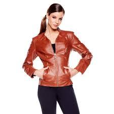 iman platinum city chic leather jacket d 00010101000000 222917 alt3