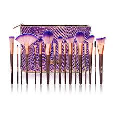 2 17pcs makeup brush set with bag